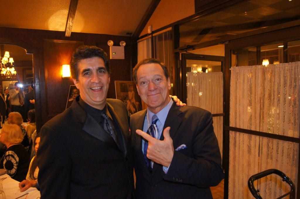 With Joe Piscopo