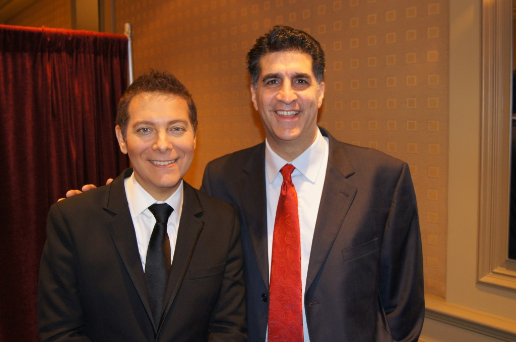With Michael Feinstein